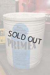 PRIMEX☆ショートニング缶☆