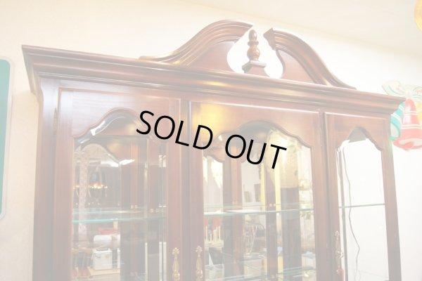 画像2: デッドストック・展示品!!Thomasvilleトーマスビル・照明付きカップボード