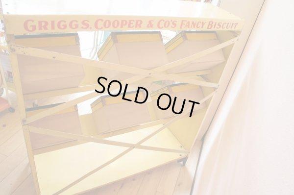 画像4: 希少☆GRIGGS COOPER&CO'S ☆ビンテージ TINビスケットディスプレイラック