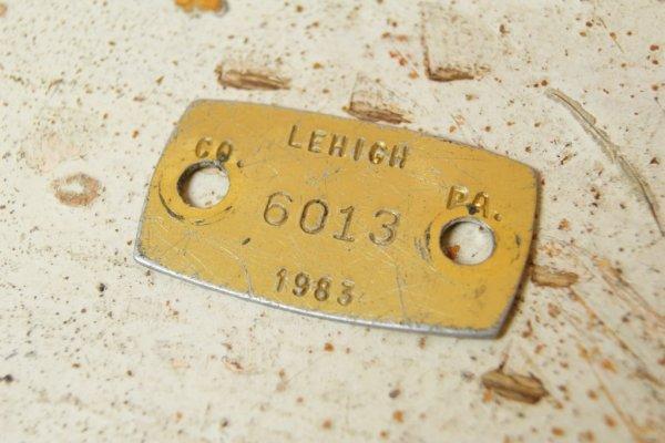 画像1: 1983-アメリカ・ドックライセンスタグ