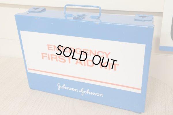 画像1: J & J FIRST AID KIT/救急箱☆メタルボックス