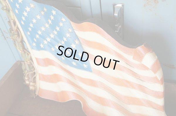 画像2: BURWOOD ビンテージ 星条旗ウォールプラーク