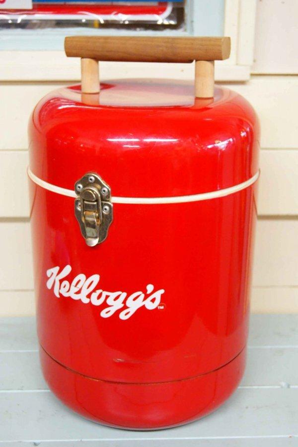 画像1: Kellogg's☆ビンテージ クーラーボックス☆