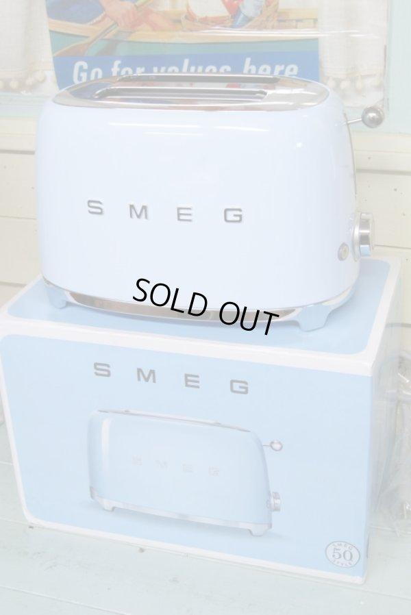 画像1: 新品 50sスタイル! SMEG スメッグ トースターTSF01(2枚焼き)