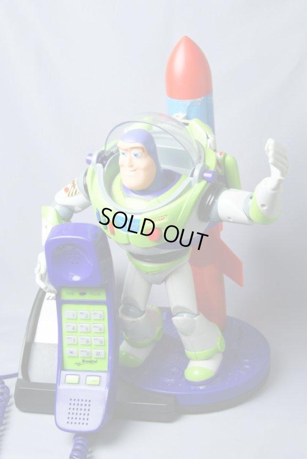 画像1: 実働 ディズニー ピクサー トイ・ストーリー Buzz Lightyear/バズ・ライトイヤー キャラクターフォン
