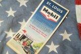 1963年☆Mobil ビンテージロードマップ☆ST.LOUIS