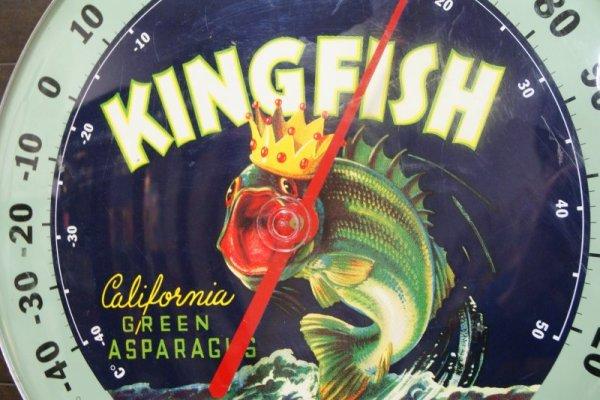 画像2: KING FISH☆ビンテージ サーモメーター