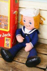 70s 箱入り!MATTEL☆Cracker Jack/クラッカージャック ラグドール☆Sailor Jack