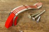 50s Amerock クローム ハンドルセット クロームプレート レッドライン
