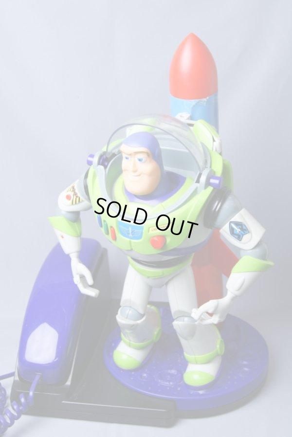 画像2: 実働 ディズニー ピクサー トイ・ストーリー Buzz Lightyear/バズ・ライトイヤー キャラクターフォン