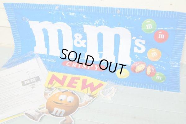 画像1: 未使用 M&M's インフラタブル ストアディスプレイ モビールサイン