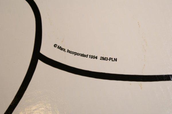画像4: レア!!107cm ジャイアントサイズ M&M's ストアーサイン 看板 レッド