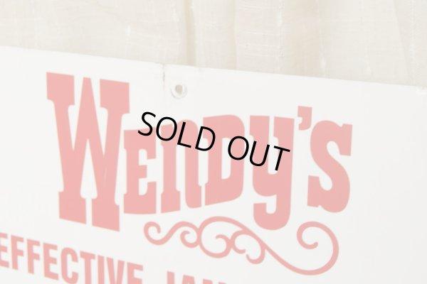画像3: Wendy's☆ビンテージ パーキングサイン