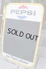 PEPSI COLA Tin Sign メニューボード
