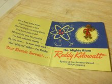 他の写真1: Reddy Kilowattレディ・キロワット・ノベルティーピンバッチ・デッドストック