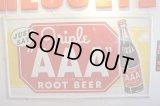 AAA root beer Tin Sign ティンサインボード