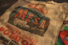 他の写真1: アメリカンビンテージサック ポテト麻袋MESA