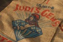 他の写真1: アメリカンビンテージサック ポテト麻袋JUDI'S GEMS